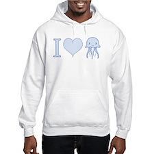 I Love Jellyfish Hoodie