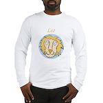 Leo Astrology 4 Long Sleeve T-Shirt