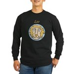 Leo Astrology 4 Long Sleeve Dark T-Shirt