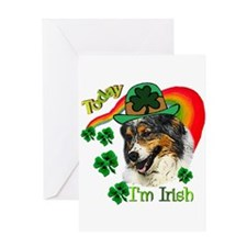 St Pats Aussie Greeting Card