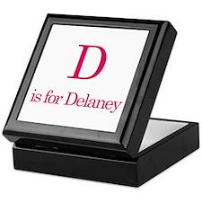D is for Delaney Keepsake Box