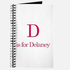 D is for Delaney Journal