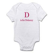 D is for Delaney Infant Bodysuit