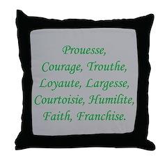 Mir's Quest Throw Pillow