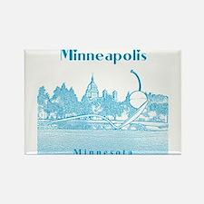 Minneapolis_10x10_SpoonbridgeAndCherry_v4_b Magnet