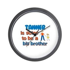 Tanner - Going to be Big Brot Wall Clock