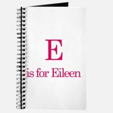 E is for Eileen Journal