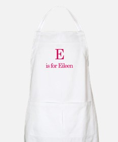 E is for Eileen BBQ Apron