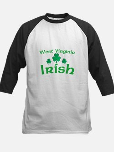 West Virginia Irish Shamrocks Tee