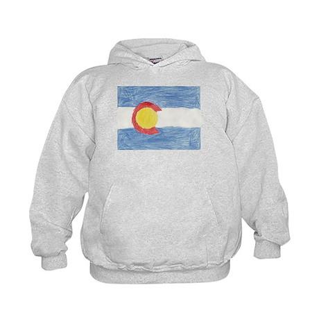 Colorado State Flag Kids Hoodie