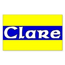 Clare Rectangle Decal