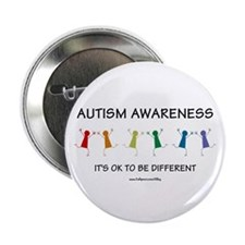"""Autism Difference 2.25"""" Button"""