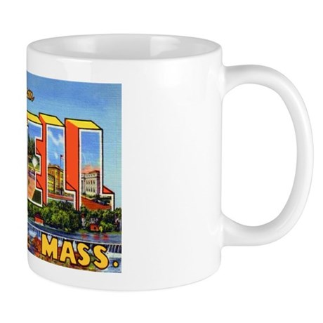 Lowell Massachusetts Greetings Mug
