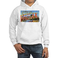 Lowell Massachusetts Greetings (Front) Hoodie