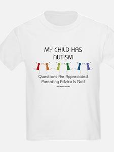 My Child Has Autism T-Shirt