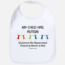 My Child Has Autism Bib