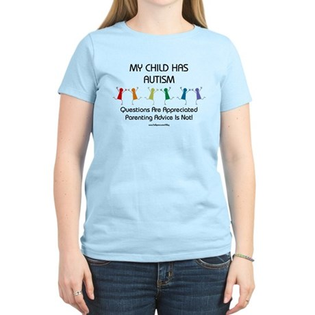 My Child Has Autism Women's Light T-Shirt