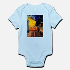 Cafe with Rottie Infant Bodysuit