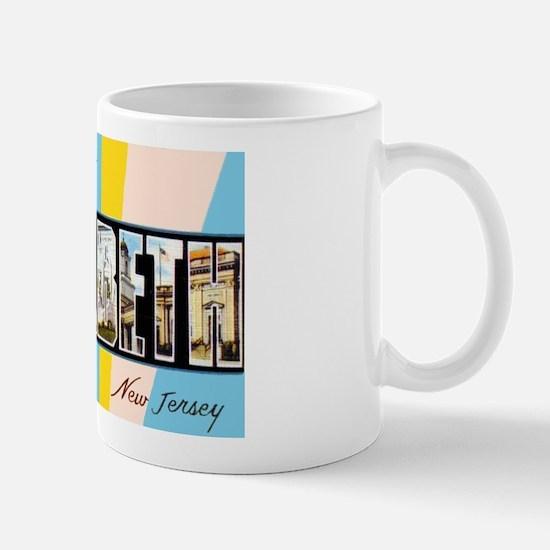 Elizabeth New Jersey Greetings Mug