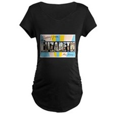 Elizabeth New Jersey Greetings (Front) T-Shirt