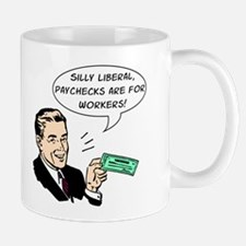 Silly Liberal - Checks Mug