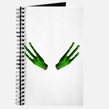 Alien Hands Green Journal
