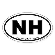 Nags Head, NC Oval Decal