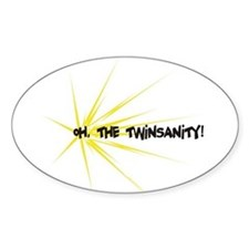 Twinsanity - Oval Decal