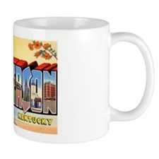 Henderson Kentucky Greetings Mug