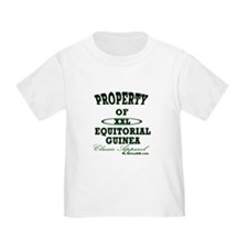 Property Of Equitorial Guinea T