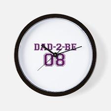 Dad-2-Be Wall Clock