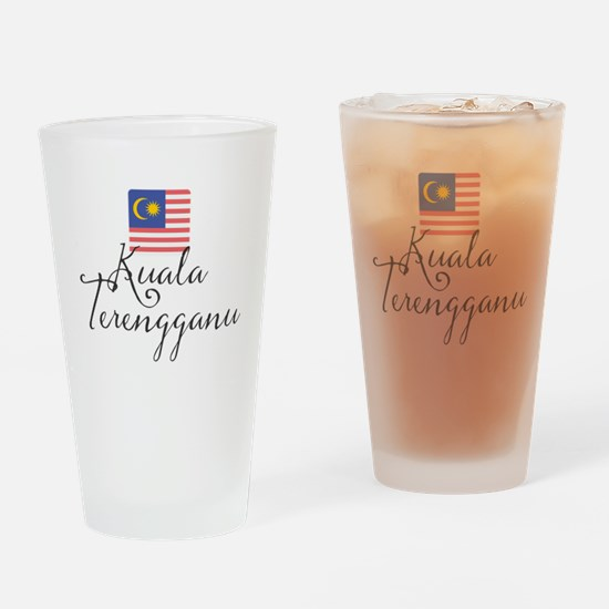 Cute Nationality Drinking Glass