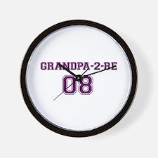 Grandpa-2-be Wall Clock