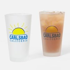 Summer carlsbad state- california Drinking Glass
