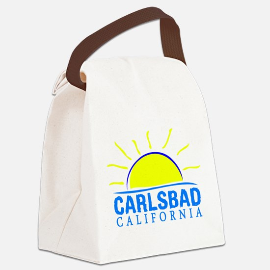 Summer carlsbad state- california Canvas Lunch Bag