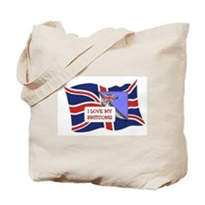 Funny Britcom Tote Bag