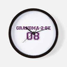 Grandma-2-Be Wall Clock