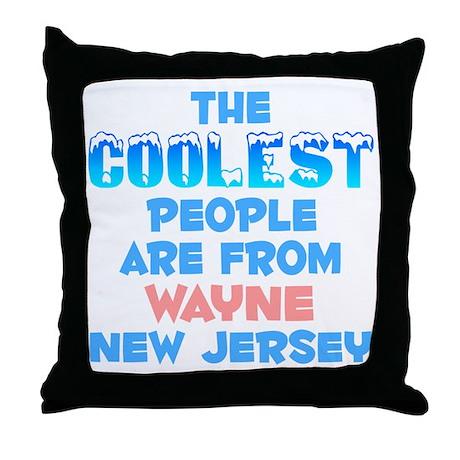 Coolest: Wayne, NJ Throw Pillow