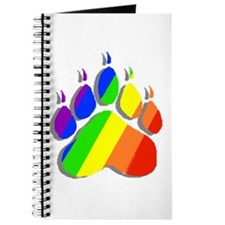 RAINBOW BEAR PAW--SHADOW Journal