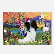 Papillon Butterfly in Fantasy Postcards (Package o
