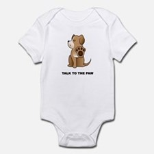 Talk To The Paw Onesie