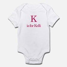 K is for Kelli Infant Bodysuit
