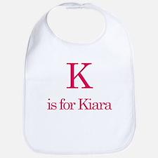 K is for Kiara Bib