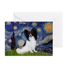 Starry Night & Papillon Greeting Cards (Pk of 10)