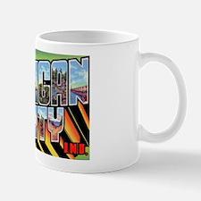 Michigan City Indiana Greetings Mug