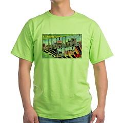Michigan City Indiana Greetings T-Shirt