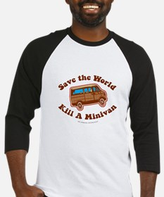 Save The World Baseball Jersey