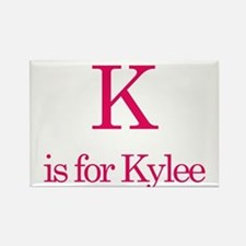 K is for Kylee Rectangle Magnet