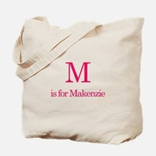 M is for Marcia Tote Bag