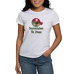 Surrender Ye Peas Pirate Women's T-Shirt